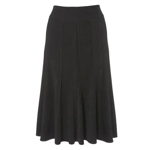 seam detail flippy skirt