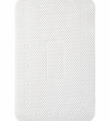 Sabichi White Soft Foam Bath Mat, white 1942040306