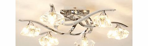 Bhs Azita Wall Lights : ceiling light chrome flush fitting