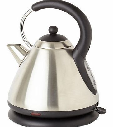 Bhs Stainless steel Essentials pyramid kettle,
