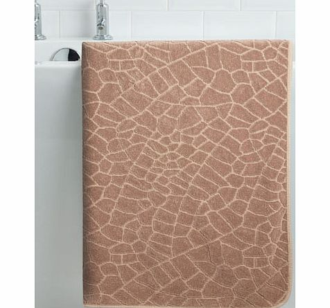 Stone Graccioza Luxury Pattern Bath Sheet, stone