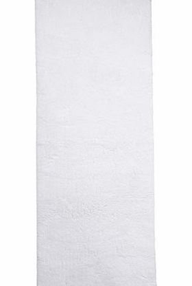 White Ultimate bath mat runner, white 1936150306
