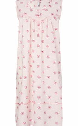 Bhs Womens Pink Bus Woven Nightdress, pink 728100528 product image