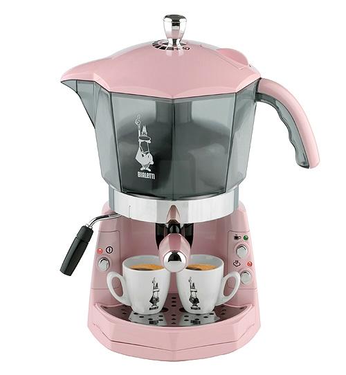 bialetti pink mokona coffee machine review compare. Black Bedroom Furniture Sets. Home Design Ideas