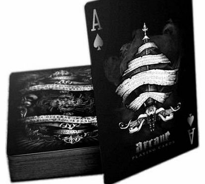 Bicycle Arcane Deck, Bicycle Playing Cards by Ellusionist, black product image