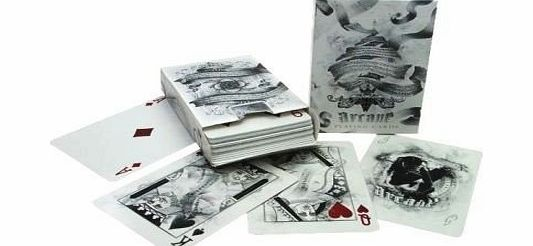 Bicycle Arcane Deck, Bicycle Playing Cards by Ellusionist, white product image