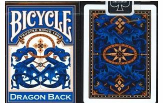 Bicycle Blue Dragon Back Playing Cards product image