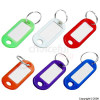 Bags Assorted Colour Key Tags Pack of 100
