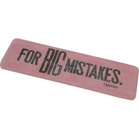 big mistake eraser traditional gift review compare