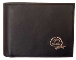 Billabong Black Texas Leather Wallet by product image