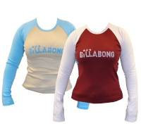 Billabong GIRLS BARRACKS RINGER LONG SLEEVE