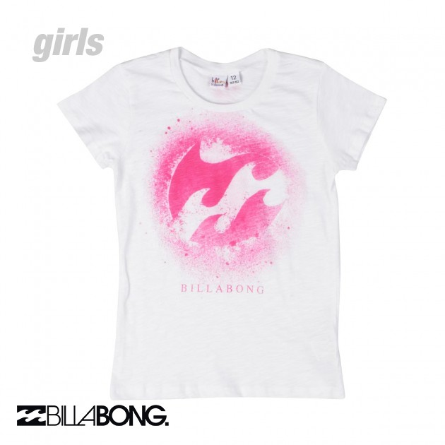Billabong Shirts Girls Shirt White Billabong Girls