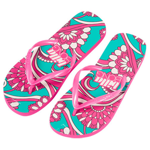 Ladies Billabong Lyza Flip Flops. Sea Green