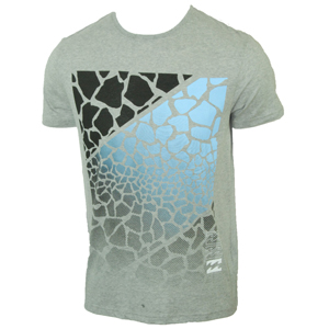 Billabong Mens Mens Billabong Taj Underground T-Shirt. Grey product image