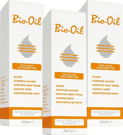 Bio Oil, 2102[^]0138900 200ml - Triple Pack