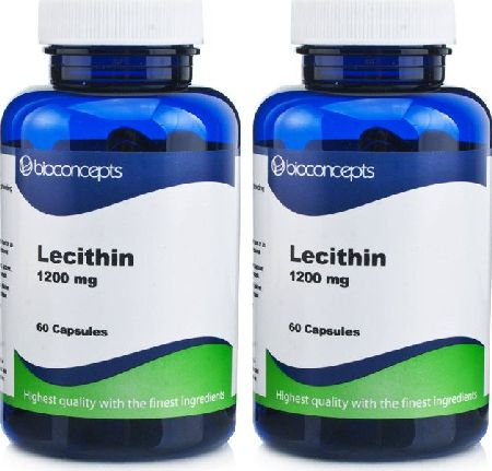 Bioconcepts, 2102[^]0081120 Lecithin 1200mg - 120 Capsules