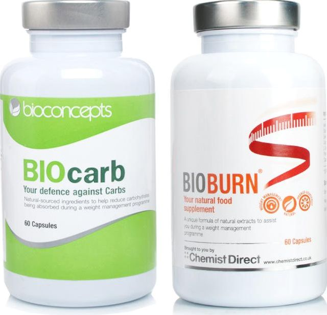 BioDIETS, 2102[^]0070402 BIOCARB   BIOBURN Natural Food Supplement