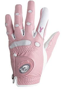 BIONIC WOMENS PINK RIBBON CLASSIC GOLF GLOVE RIGHT HAND PLAYER LARGE