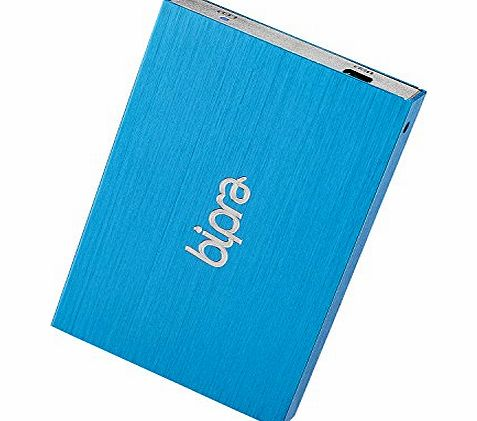 Bipra 500GB 2.5 inch USB 2.0 FAT32 Portable External Hard Drive - Blue product image