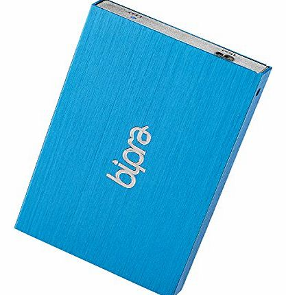 Bipra B:Drive 250GB USB 3.0 2.5 inch NTFS Portable External Hard Drive - Blue product image