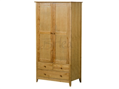 Birlea Cotswold Combi Wardrobe Pine Small Single product image