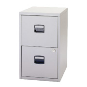 Bisley 2-Drawer A4 Filing Cabinet product image