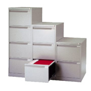 Bisley 3-Drawer Foolscap Filing Cabinet product image