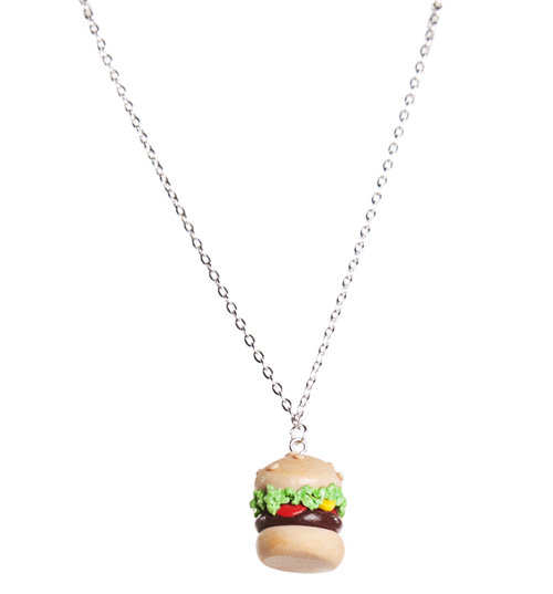 Bits and Bows American Burger Necklace from Bits and Bows product image