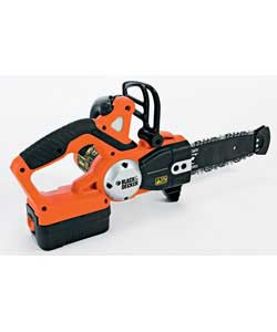 smoby black and decker chainsaw put your gloves and protective