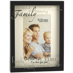 This Black Box Style Family Photo Frame is a lovely modern style and the perfect place to display a  - CLICK FOR MORE INFORMATION
