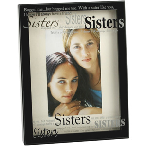 This Black Box Style Sisters Photo Frame is a lovely modern style and the perfect place to display a - CLICK FOR MORE INFORMATION