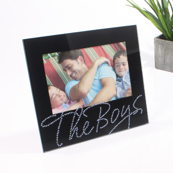 Black Crystals Frame - The Boys