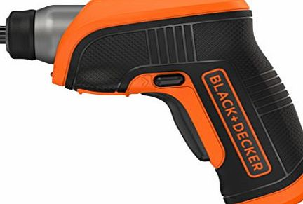 BLACK DECKER Black   Decker CS3652LC-GB 3.6 V Screwdriver with Right Angle Attachment