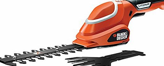 BLACK DECKER Black   Decker GSL700 7V Li-ion Cordless Shear Shrubber Kit