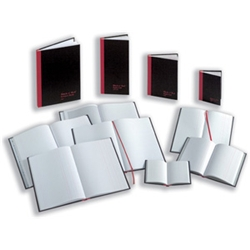 Black n Red Book Casebound 90gsm Indexed 192
