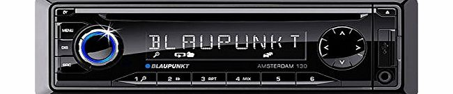 Blaupunkt Amsterdam 130 Car Radio with CD Tuner/USB/AUX product image