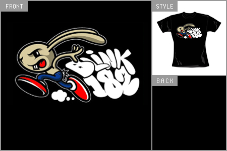 Blink 182 (Bunnyface) Skinny Fitted T-shirt