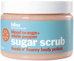 SUGAR SCRUB BODY POLISH- BLOOD ORANGE and