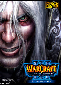Blizzard Warcraft III Expansion The Frozen Throne PC