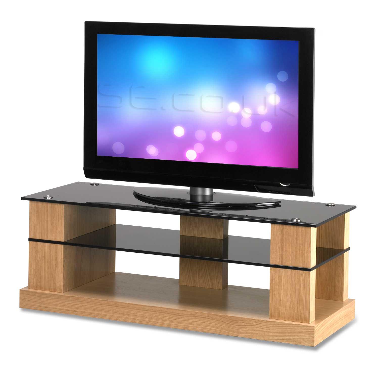 Contemporary Oak Range Tv Stands