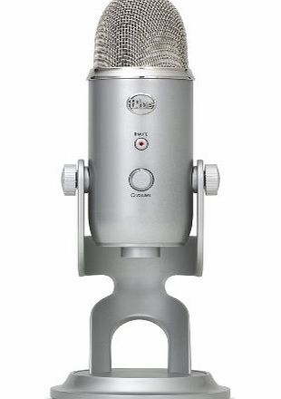Blue Microphones Yeti USB Microphone - Silver Edition product image
