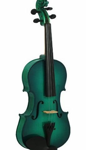 Blue Moon 3/4 Size Violin Outfit - Green
