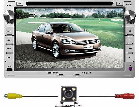 BlueLotus for VW Passat B5 / Golf 4 / POLO / BORA / Sharan / Lupo / T5 / Jetta / Fox In-dash 7`` Touchscreen DVD Player Gps Navigation Tv Radio Bluetooth Steering Wheel Control RDS Sd/usb Ipod Av + Re product image