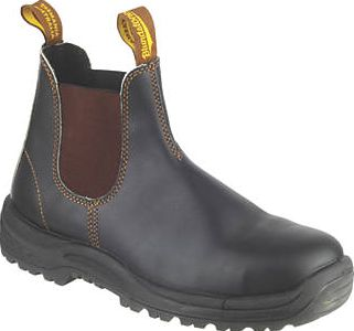 Blundstone, 1228[^]7928G 192 Dealer Safety Boots Brown Size 8