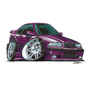 Bmw e36 m3 purple kids t shirt review compare prices for Bmw t shirt online