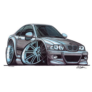 Bmw e46 m3 silver kids t shirt review compare prices for Bmw t shirt online