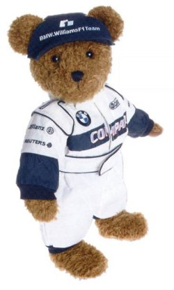 Bmw Williams Bmw Team Teddy Bear Formula 1 Merchandise