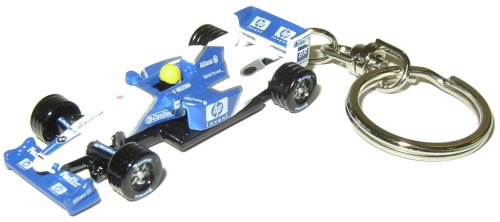 Williams race car keyring