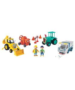 Bob the Builder 4 Friction Vehicle Playset with Figures product image