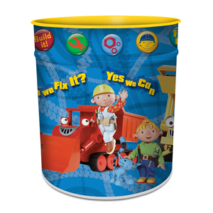 Bob The Builder Waste Paper Bin product image